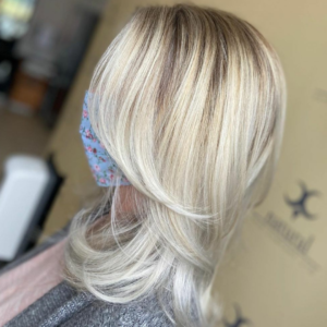 Add Layers to your hair at natural hair company salon in lisburn