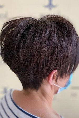 Short haircuts at top hairdressers in Lisburn