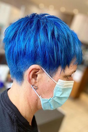Bold hair colours at Natural Hair Company in  Lisburn, County Antrim